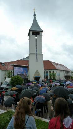 Vysvätenie katolíckeho kostolu