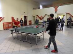 Pingpongový turnaj 2017