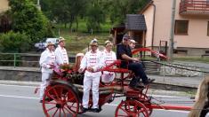 Návšteva družobnej obce Šarovy (CZ)