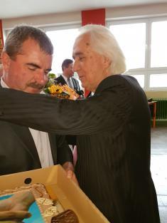 Oslava 80.narodenín p.Pásztor Béla