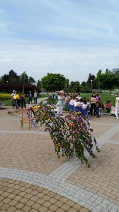 Ľudová tradícia – stavanie 1. mája
