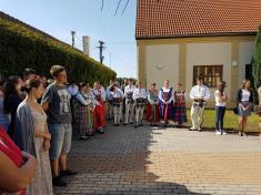 Folklórny festival v Šarovciach