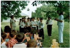 Rozlúčka školákov maď. ZŠ - 2006